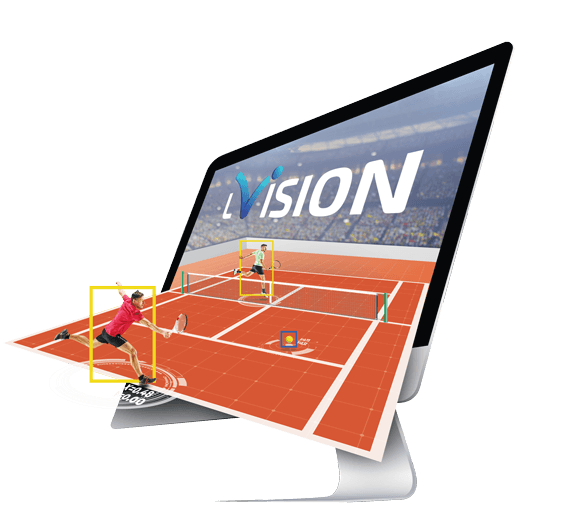 LVision - Smart machine learning algorithms analyzing tennis streaming provided in real-time